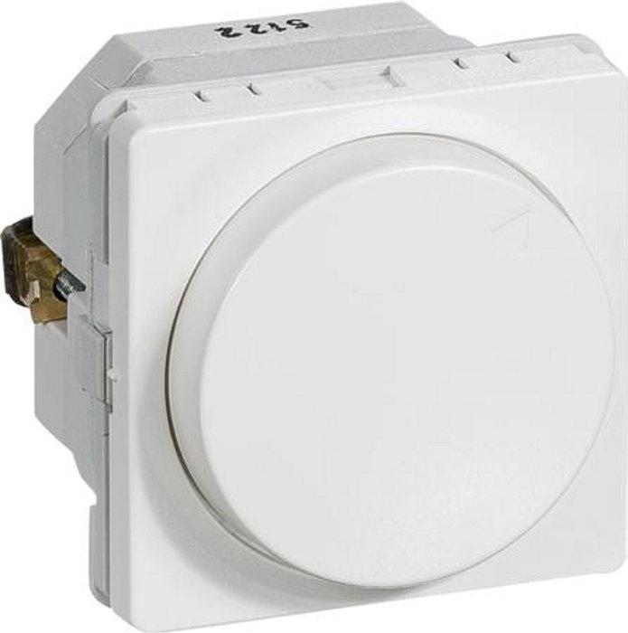 Fuga Lysdæmper med drejeknap MEK-D 300CR hvid