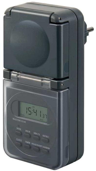 Klockströmbrytare digital