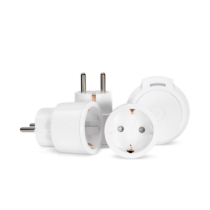 Plug-in mottagare3 x 2300W