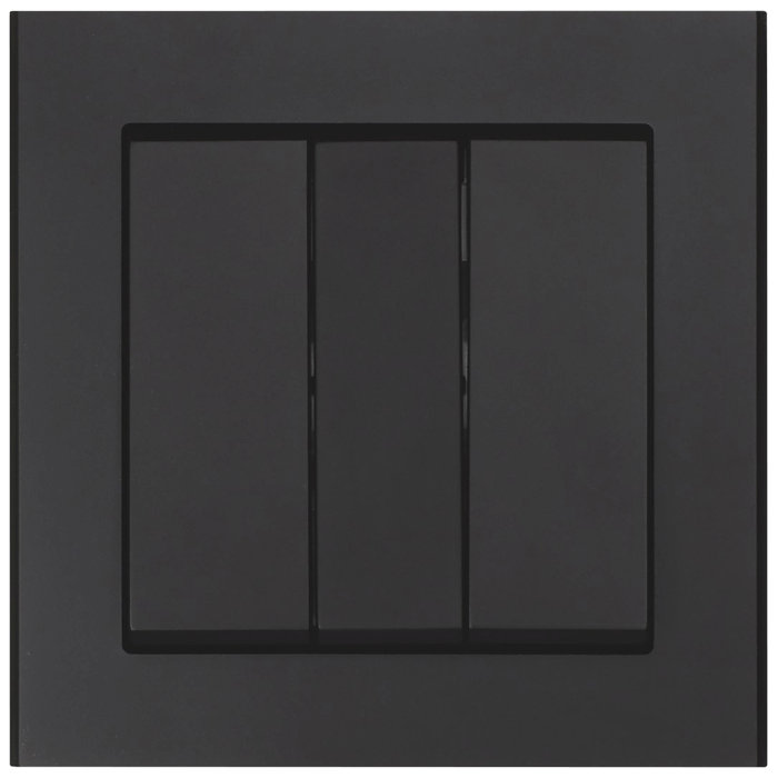 Strömbrytare Optima 3x1-pol