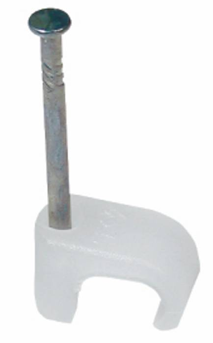 Kabelklammer 3-5 oval natur