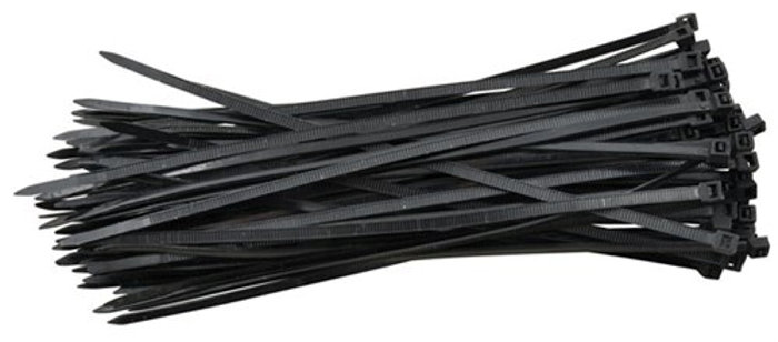 Buntband 150 x 3,6 mm svarta