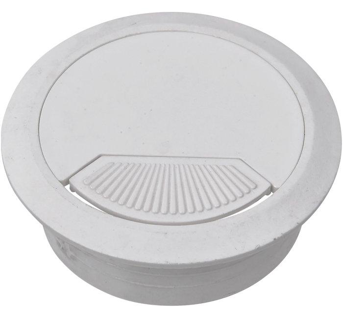 Kabelgennemføring hvid Ø60 mm