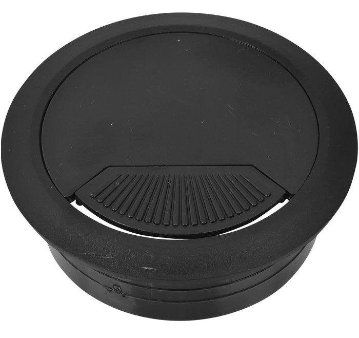 Kabelgennemføring sort Ø60 mm