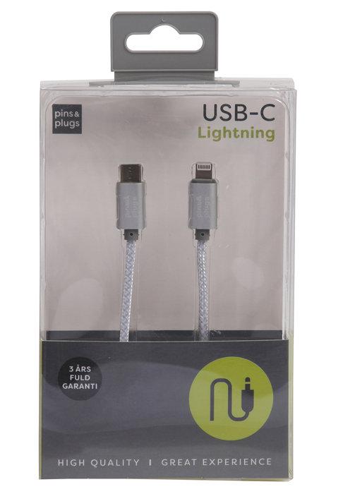 USB-C til lightning kabel 1 meter