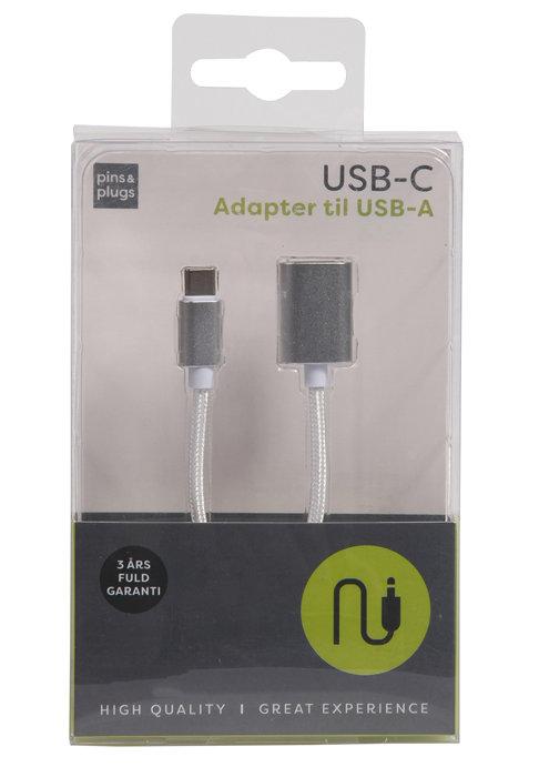 USB-A til USB-C adapterkabel