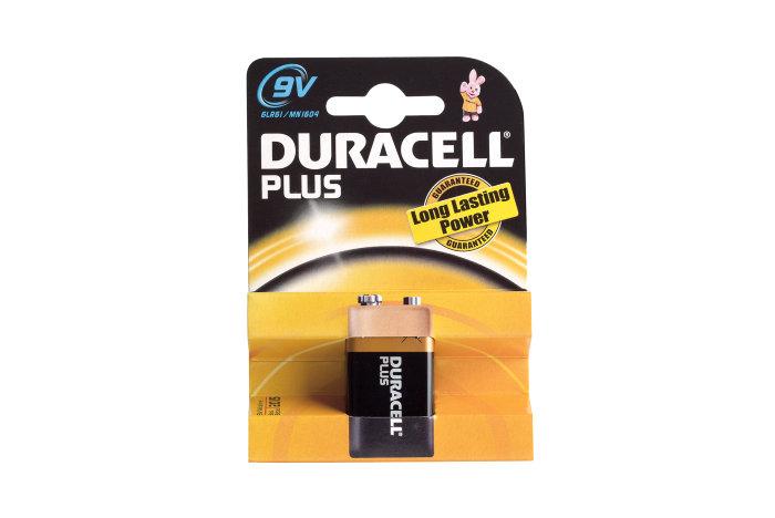 Batteri 9 V Duracell
