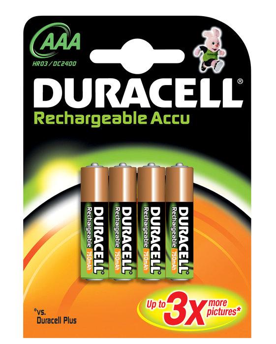 Batteri Uppladdningsbart AAA