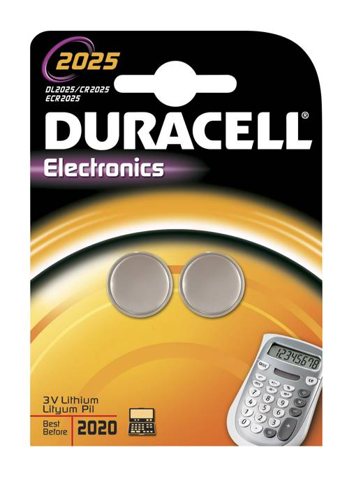 Batteri CR 2025 Duracell
