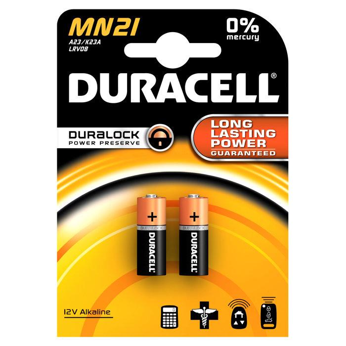 Batteri MN 21 Duracell
