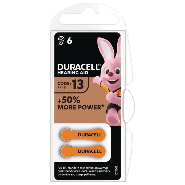 Hörapparatsbatteri DA13 Duracell