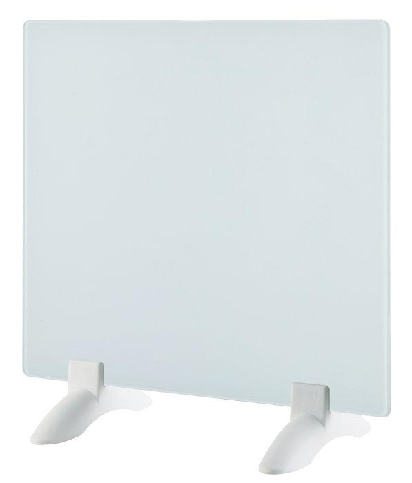 Elektrisk glassradiator 400W hvitt
