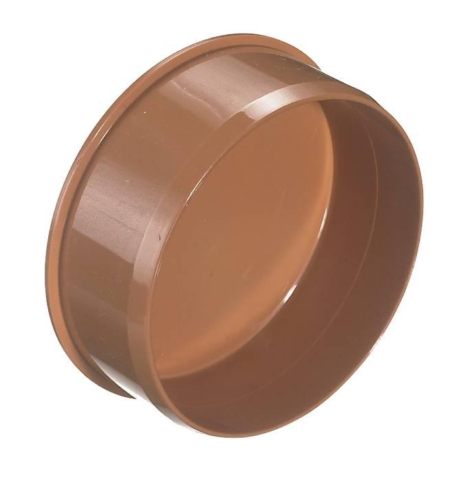 PVC kloakprop rød 110 mm
