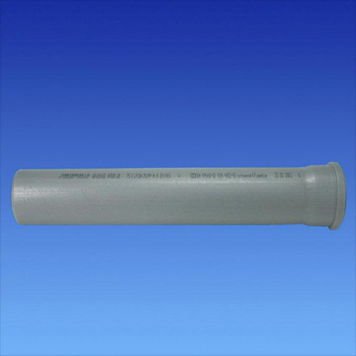 Avloppsrör 110 mm x 1 m