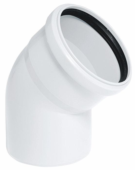 Bøyning 40x45 gr pp hvit