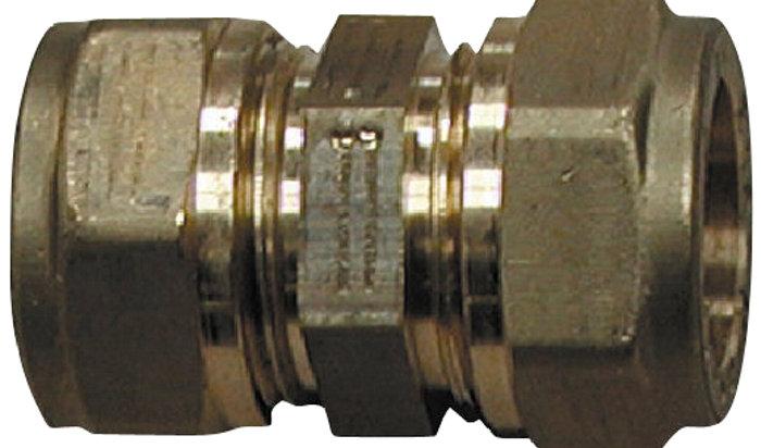 Kobling messing 12 mm