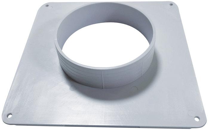 Murflange Ø 102 mm