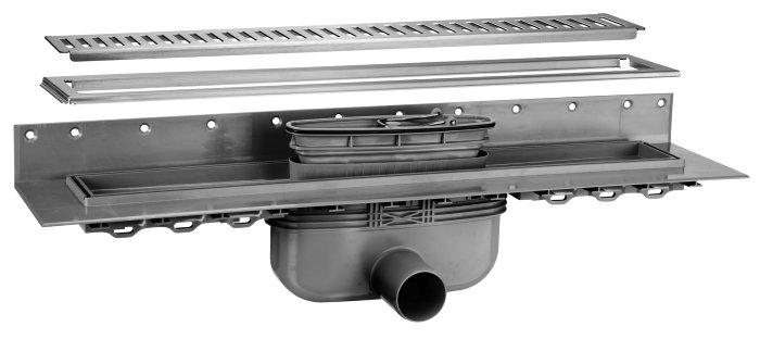 Afløbsrendesæt 900 mm - Purus
