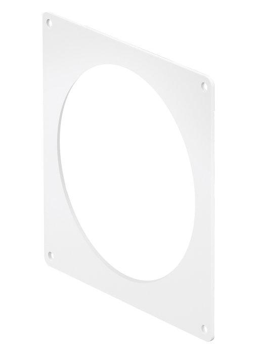 Dækplade ø100 15x13,5 cm hvid
