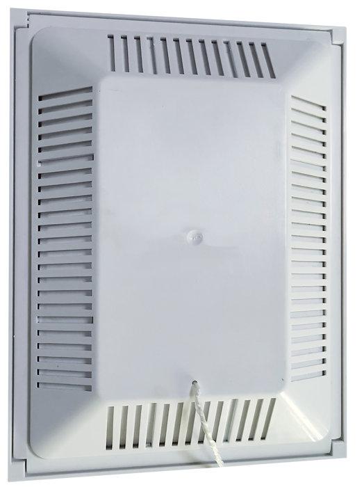 Klapventil 10x15 cm - hvid