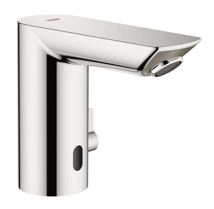 Grohe Bau Cosmo E håndvaskarmatur med sensor