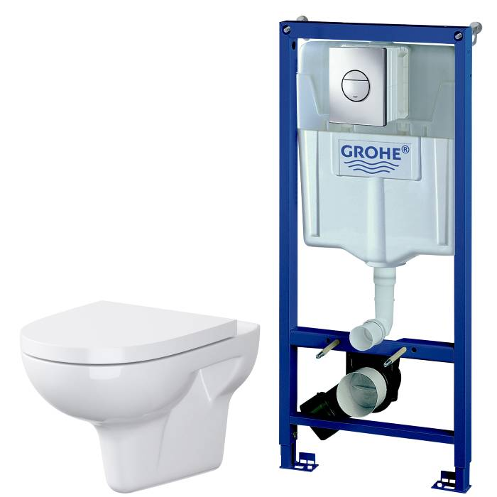 Toiletpakke Grohe Solido med Fusion Rimless