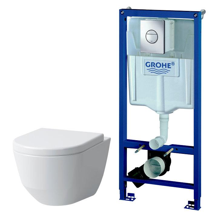 Toiletpakke Grohe Solido med Laufen Pro Design
