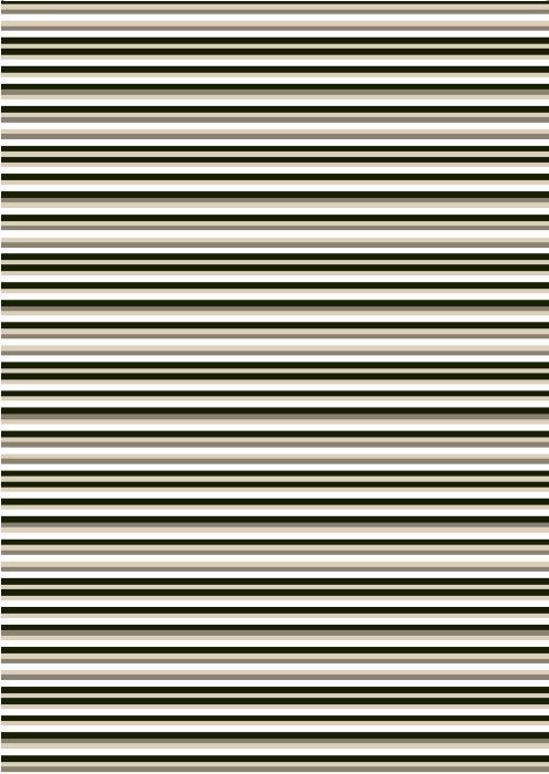 Badeforhæng Stripes 180 x 200 cm - Geyser