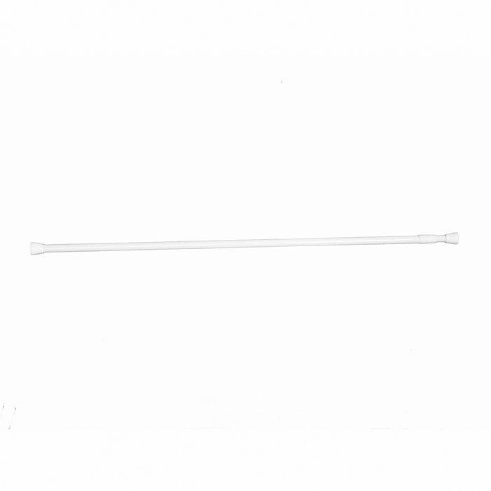 Duschdraperistång Vit 70-120 cm