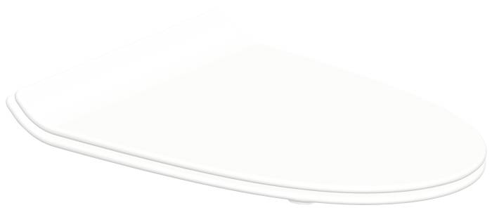 Toiletsæde til Ifö Cera hvid slimline m/soft close