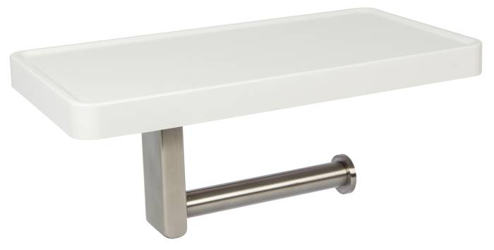 Toiletpapirholder med hylde - New Concept