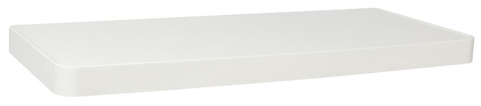 Hylde hvid 31 x 13 cm - New Concept