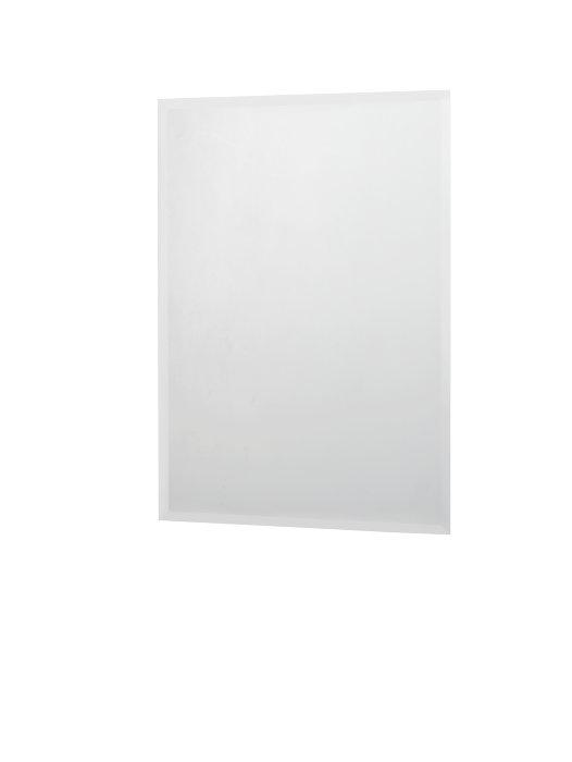 Spejl med facetslebet kant 70 x 60 cm