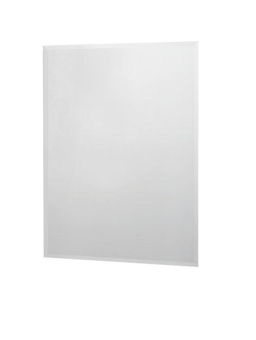 Spejl med facetslebet kant 70 x 80 cm