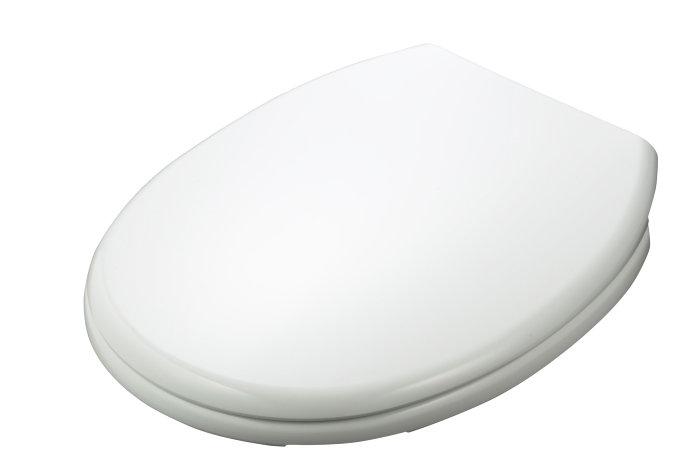 Toalettsete hvit universal med soft close - REN