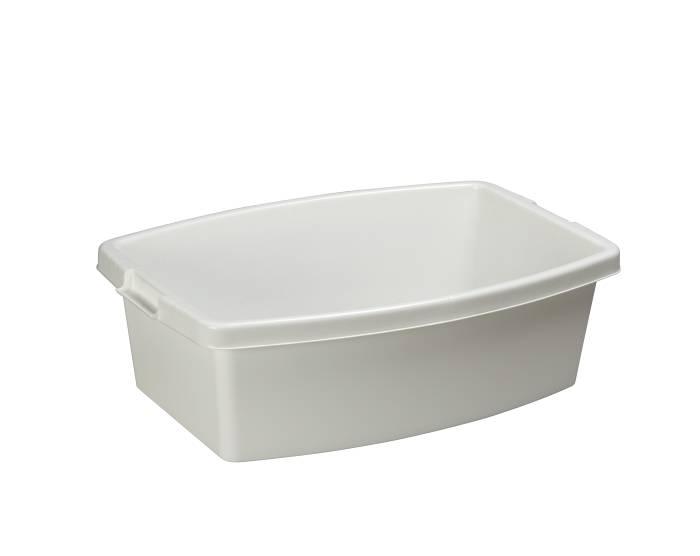 Vasketøjsbalje 32 liter hvid