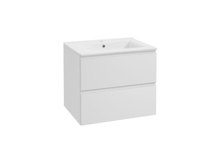 Kabinet Deluxe hvid 80 cm - BathZone