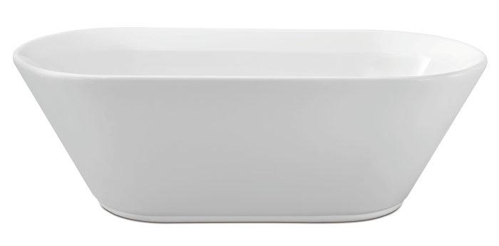 Badekar fritstående L176 x B80 x H59 cm