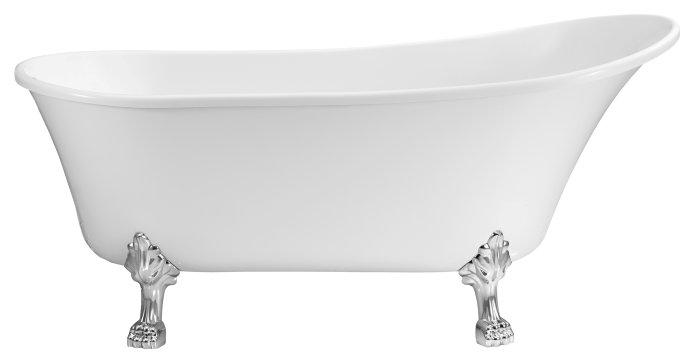 Badekar fritstående L160 x B72 x H75 cm