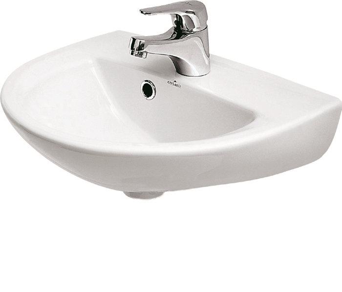Håndvask til vægmontering.