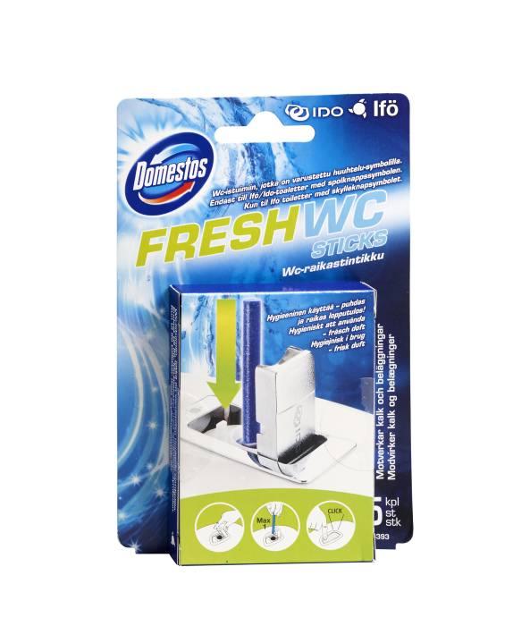Enormt Ifö fresh WC sticks 5 stk - Domestos | jem & fix TD96