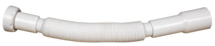 """Afløbsslange t/håndvask. 1 1/4"""" x 32/40 mm"""