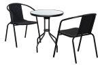 Cafébord og stoler