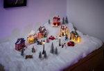 Julepynt med lys